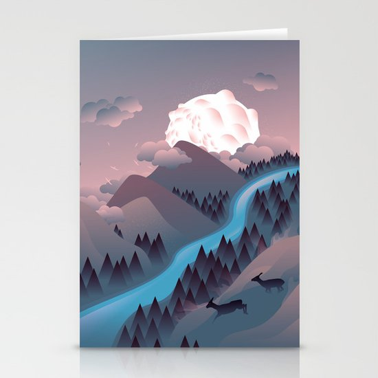 Sunquake Stationery Cards