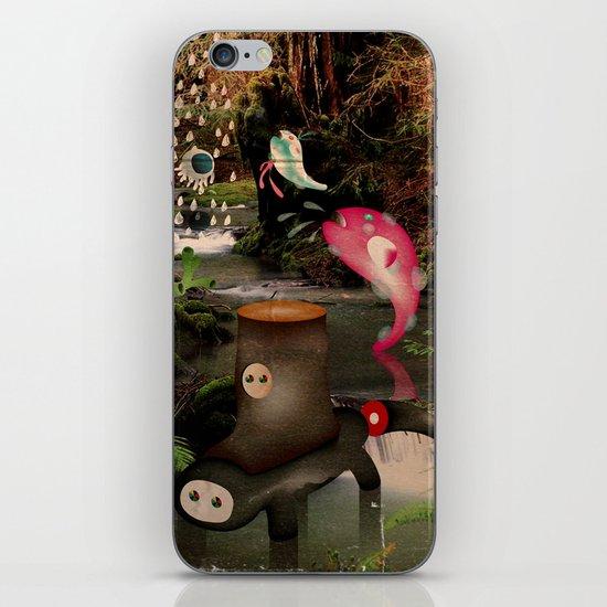 PioVRo_NeL_BosCO iPhone & iPod Skin