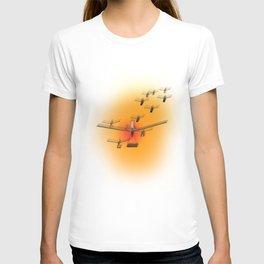 Pushpin Invasion T-shirt
