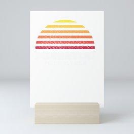 scranton pa tee - retro vintage style distressed sundown Mini Art Print