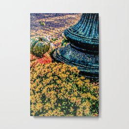 Mums and Gourds are Everywhere Metal Print
