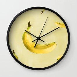 el fruto del banano es sano Wall Clock