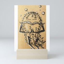 Namaste Seaweed Mini Art Print