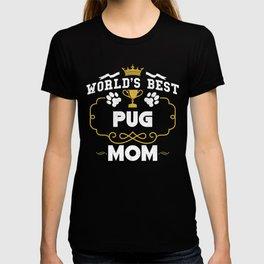 World's Best Pug Mom T-shirt