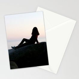 17 Mile Drive Sunset Stationery Cards