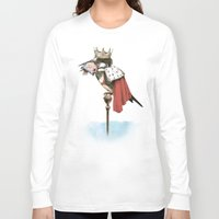 king Long Sleeve T-shirts featuring King Fisher by Eric Fan