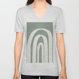 Abstract Arches Unisex V-Neck