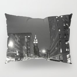 New York City at Night Pillow Sham