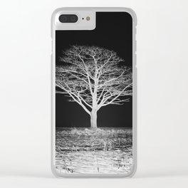 Bitter Night Clear iPhone Case