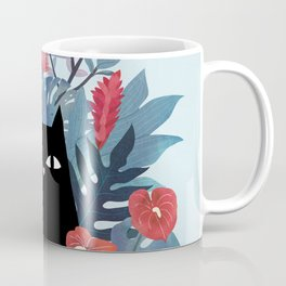 Popoki in Blue Coffee Mug