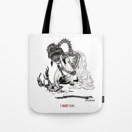 I Hate Love You Tote Bag
