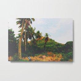 Maui rainforest trekk Metal Print