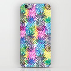 Pineapple CMYK Repeat iPhone & iPod Skin
