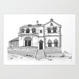 Deserted House Art Print