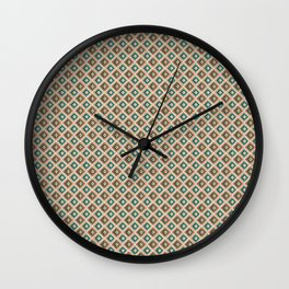 Triangles abstract Wall Clock