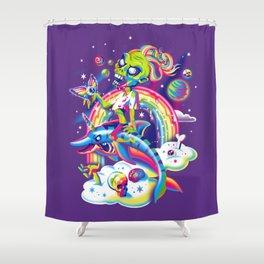 Rainbow Apocalypse Shower Curtain