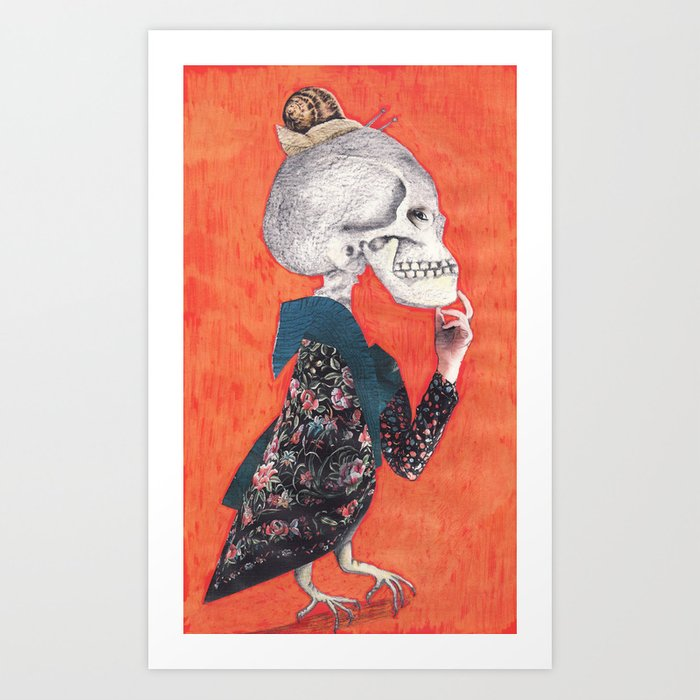 What was the question?(Versión II) Art Print