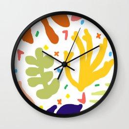 Matisse Confetti Wall Clock