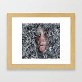 I won't look back Framed Art Print