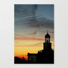 Vicksburg Sunset Canvas Print