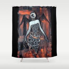 Angel eye Shower Curtain