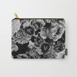 Black Roses Carry-All Pouch