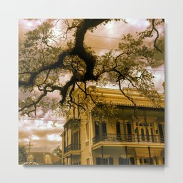 Southern Mansion Metal Print