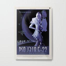 Rogue Planet Metal Print