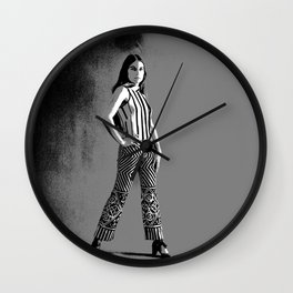 Funky Pants Wall Clock