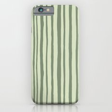 Into the Woods green Stripes Slim Case iPhone 6s