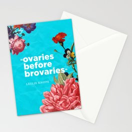 ovaries before brovaries Stationery Cards