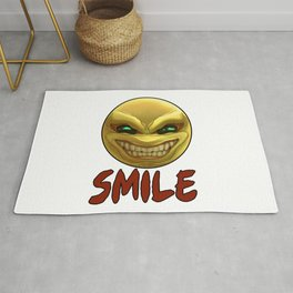 Smile, it's Funny Rug