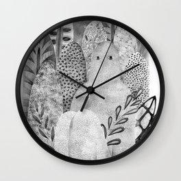 Sleepy giant Wall Clock