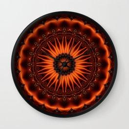 Mandala Gold 2 Wall Clock