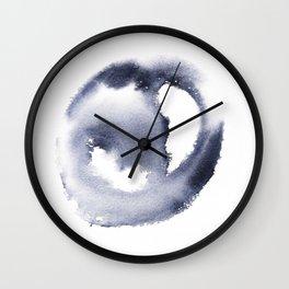 150527 Watercolour Shadows Abstract 81 Wall Clock