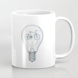 Light Bicycle Bulb Coffee Mug