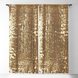 Rough golden paint texture Blackout Curtain