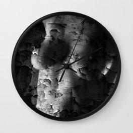 Textured Topless Wall Clock
