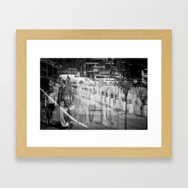 Reflecting I Framed Art Print