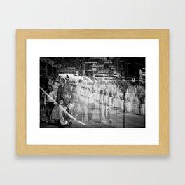 Reflecting I Framed Art Print