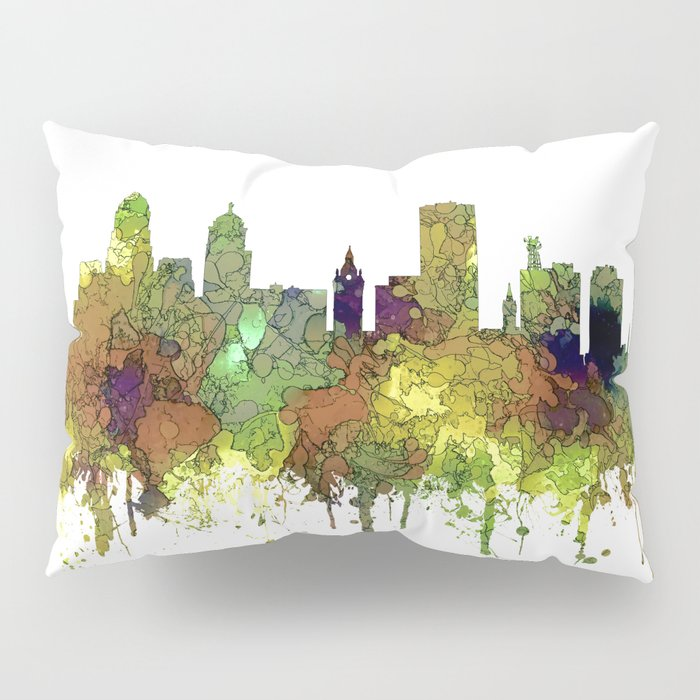 Buffalo, New York Skyline - SG Safari Buff Pillow Sham