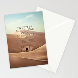 Wizarding Schools Around the World: Egypt Stationery Cards