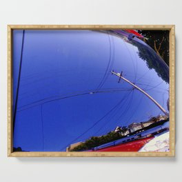 The Fish-Eye Sky, Grounded  Serving Tray