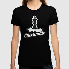 Awesome Chess Checkmate T-Shirt Saying Eat Sleep Check Mate T-shirt
