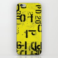 code iPhone & iPod Skins featuring Code by ayarti