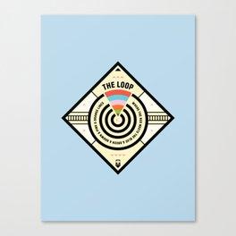 Chicago Print - The Loop Canvas Print