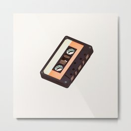 Lo-Fi goes 3D - The Mixed Tape Metal Print