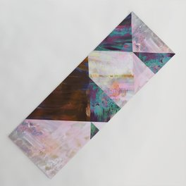Painted Geometric Yoga Mat