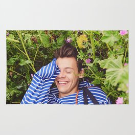 Harry Styles Another Man photoshoot Rug