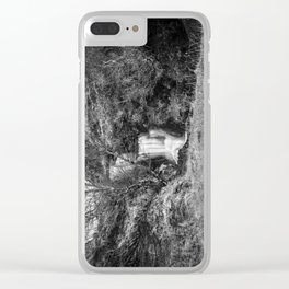 Ardvreck Castle Waterfall Clear iPhone Case